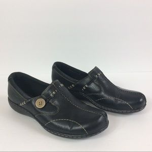 Clark Bendable's Sixty Delta Leather Slip-on Shoes